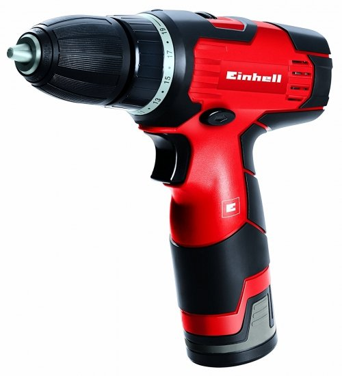 Акумулаторна бормашина EINHELL TH-CD 12-2 Li, 12V, 1.3Ah, 350-1300об/мин