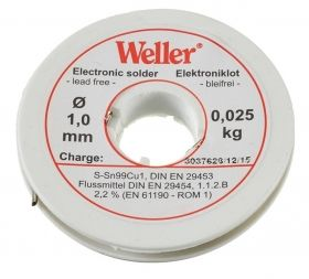 Тинол Weller EL 99/1-100 /Leadfree, 1мм, 100гр