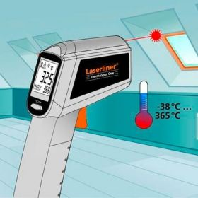 Безконтактен термометър Laserliner ThermoSpot One, -38+365°C