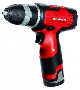 Акумулаторна бормашина EINHELL TH-CD 12-Li, 12V, 1.3Ah, 400об/мин